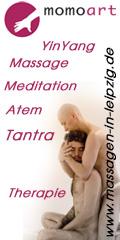 Vertikal Banner 120-240 momoart Massagen